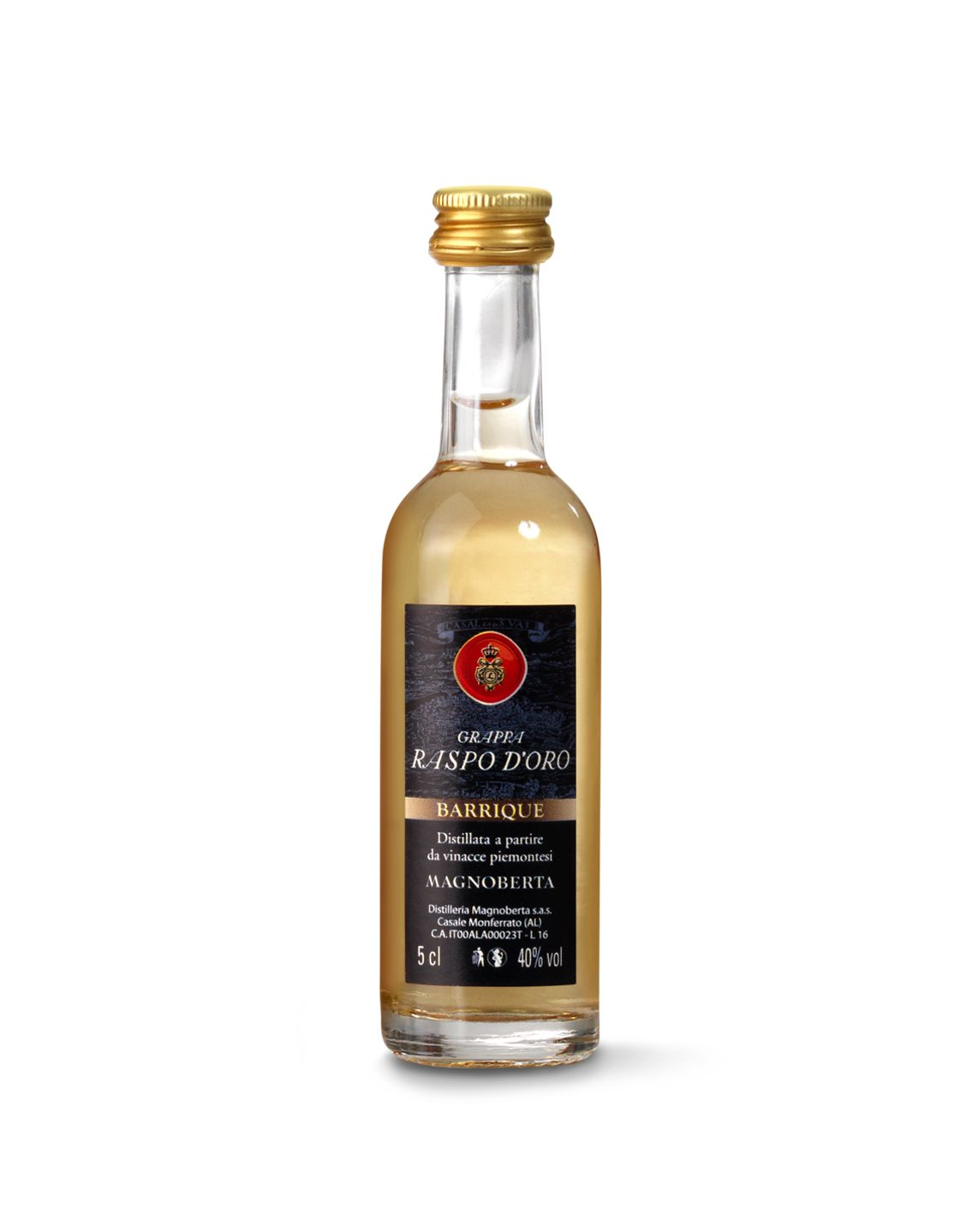 Grappa Raspo d'Oro Barrique